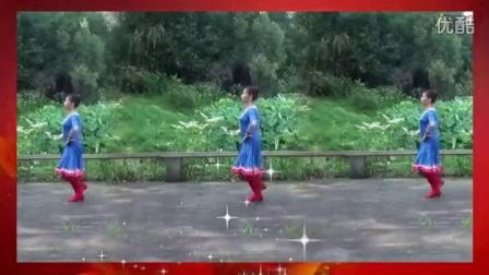 快乐天天广场舞-《毛主席的光辉》简单十六步
