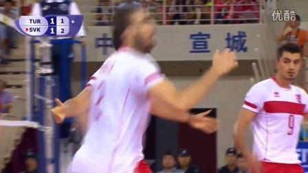 2016世界男排联赛(第Ⅱ组)(中国安徽宣城站)(土耳其VS斯洛伐克)