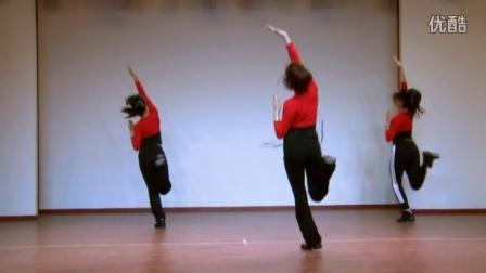 大理白族自治州民族广场舞推广示范节目(B)01叽秋嘞含分解动作