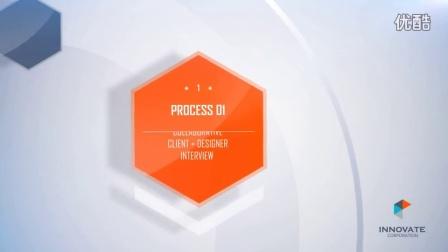 现代企业品牌宣传包装公司时间轴展示AE工程-aembw.com