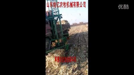 草捆自动捡拾装车机-装草机-装捆机-抓草机-山东创亿农牧机械有限公司