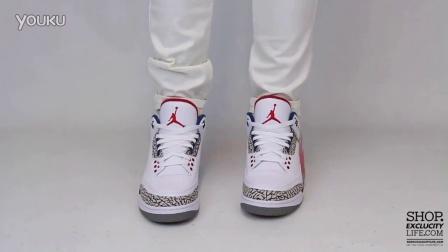 Air Jordan 3 Retro OG -True Blue- 上脚欣赏