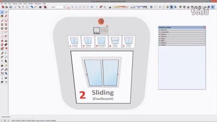 sketchup一键窗户插件--1.如何使用