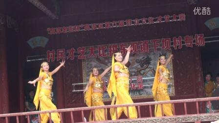 高淳区东坝文体中心姐妹们向応子老师学跳印度舞大家来跳舞