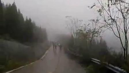 义马市雨天健康徒步活动