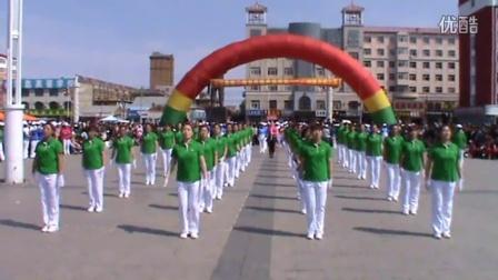 龙江县广厚乡一村广场舞 《龙江县健身操大赛》