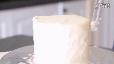 创意翻糖蛋糕 双层喷绘彩虹蛋糕制作教程_标清