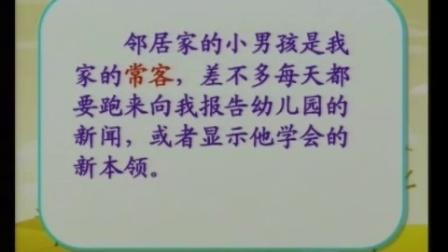 小学语文 四年级下册(苏教版) 《苹果里的五角星》【于晓莹】(江苏省优质教学资源课堂教学示范-模拟教学)