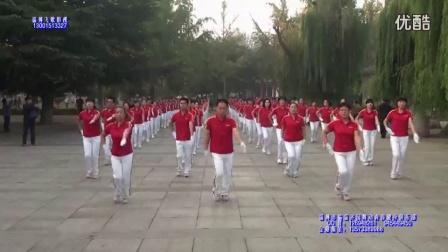 淄博市临淄齐园舞动青春第十一套行进式有氧健身操 超清