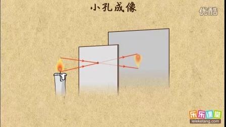 妙学初中物理:小孔成像