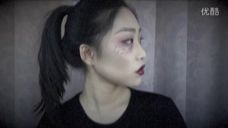 ♥xxoKate♥万圣节の吸血鬼 &小鹿 &破布娃娃 | 万圣节妆容