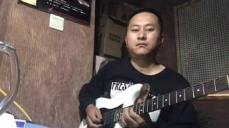 原创电吉他曲雨夜之吻