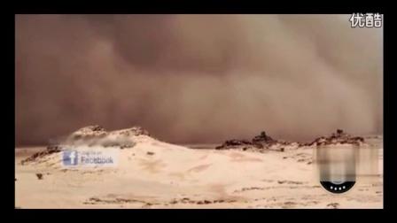 UFO母船从沙漠起飞,非常震撼!_标清