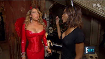Inside Mariah Carey's Devilish Halloween Party