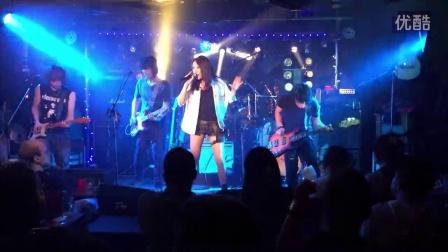 10月22日东京六本木摇滚酒吧现场