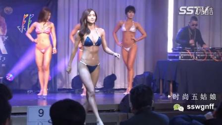 韩国女子健美之各有千秋