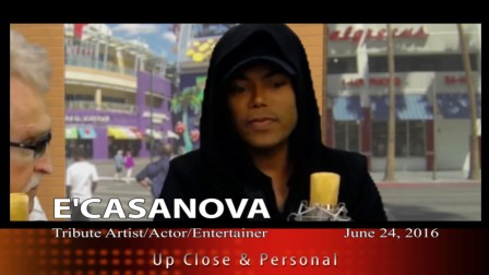 E'CASANOVA Remembers Michael Jackson pt 1