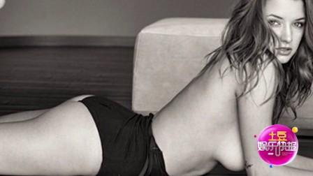 阿莉莎·阿尔塞开腿性感 吊带衣退至腰间露出大号酥胸!