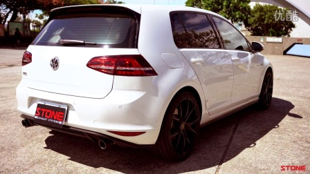 VW Golf7 GTI STONE Exhaust Eddy Down pipe
