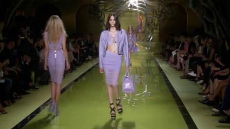 2014春夏米兰时装周Versace秀场视频