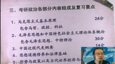 2018考研政治高分导学课程(万磊)版03