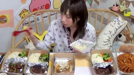 【木下大胃王】两万日元4份牛排套餐 - 吃肉好幸福 土豪求大腿 @柚子木字幕组_标清