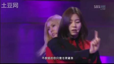 After School 091211 金手套颁奖 因为你【中字】
