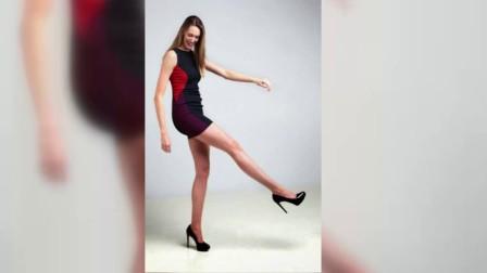 女模腿长1.2米 刷新美国最长腿纪录