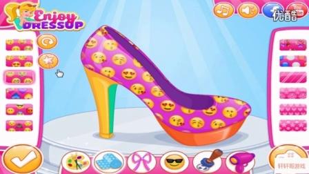 芭比设计可爱鞋子  芭比公主动画片大全中文版_标清