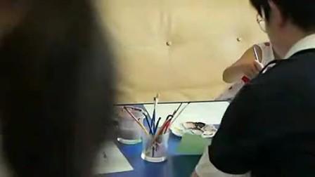 《邻舍小孩》之 水彩画 ——在家上学 homeschooling