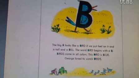 好奇猴乔治学字母A-G