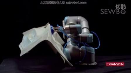 未来的,机器人也能缝制成衣服了