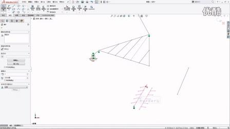 SOLIDWORKS 草图就能实现冲床机构运动模拟