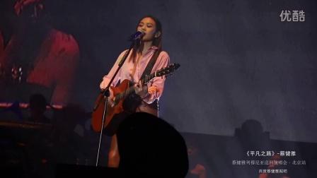 《平凡之路》蔡健雅 2016列穆尼亚巡回演唱会【北京站】高清live现场版