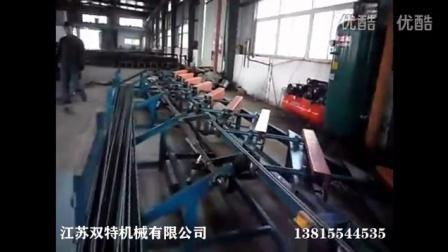 钢纤圆钢抛丸机工作原理 线材强化抛丸机视频-江苏双特机械有限公司