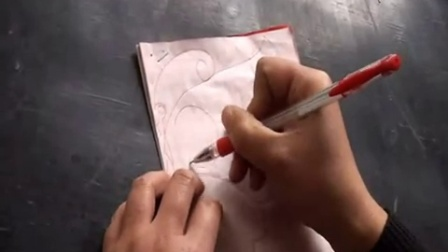 蝴蝶剪纸图案的制作