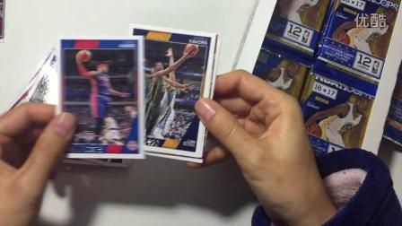 2016-17 panini NBA hoops 盒卡 拆卡视频 (2) candy tina
