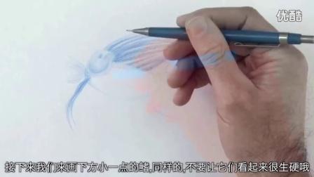 【绘笔万象】画一只美人鱼和鱼的故事