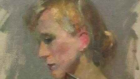 女人体油画写实技巧女人体油画现场教学视频