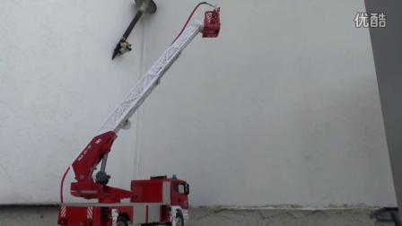 RCNOW.NET 遥控模型RC 遥控救火车云梯操作视频4