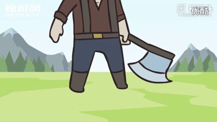 LOL 诺手搞笑动画 你干嘛要砍我丁丁!