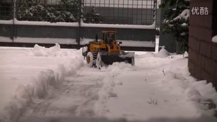 RCNOW.NET 遥控模型RC 遥控铲车铲雪视频