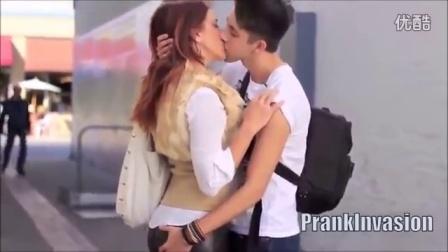 在大街上亲吻100个陌生女生-1