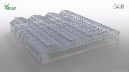 RPD开窗Ridge Ventilation for Poly Greenhouses - 720P