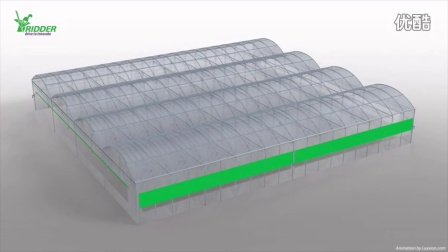RPD 侧卷guiding Carriage Poly Greenhouses - 720P
