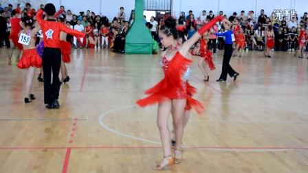 虎林市美亚舞蹈学校~拉丁舞双人伦巴比赛大赛现场
