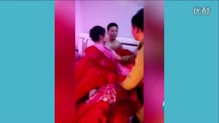 中国式闹婚新娘被扒只剩内衣裤视频流出