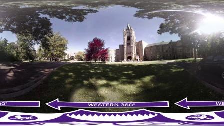 韦仕敦大学360全景视频 - Middlesex College