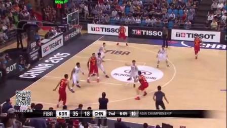 亚锦赛-周琦21分导演20分逆转 中国男篮76-73逆转韩国