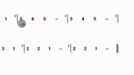 阳光六孔陶笛微教学【第七课】《C指法练习曲二-两只老虎》